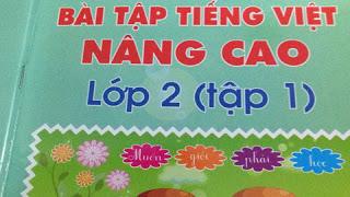 Bài sách Bài tập Tiếng Việt nâng cao
