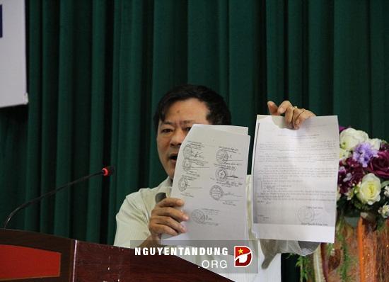 Ông Triển tiết lộ tài liệu bí mật quốc gia để tố Thu Uyên tiết lộ bí mật quốc gia!!!