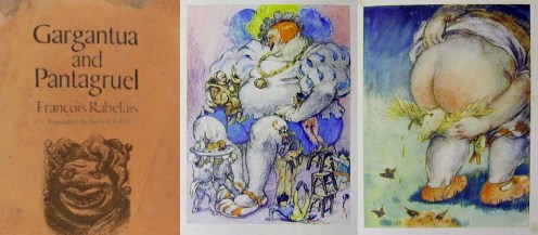 Kiệt tác của F.Rabelais và tranh minh họa của Louis Icart French