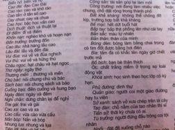 Trang đánh máy chia sẻ từ FB Quang Huy