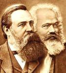 K. Marx & F.Engels. Nguồn Google Images