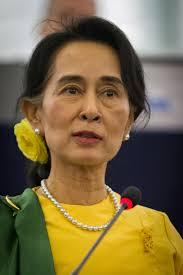 """Aung San Suu Kyi, """"người đàn bà thép"""", ảnh Google."""