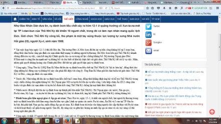 Tiếng Tây thế kỉ 21 hay báo Nhân dân Việt hóa tiếng Tây?