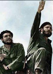 Che Guevara và Fidel Castro